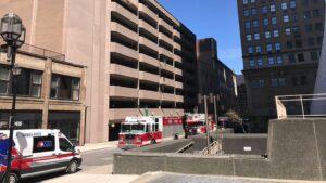 acidente trabalhador cai de prédio
