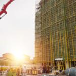 Indústria da construção civil tentando trabalhar com coronavírus
