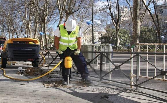 Rompedor  - ferramentas na construção civil