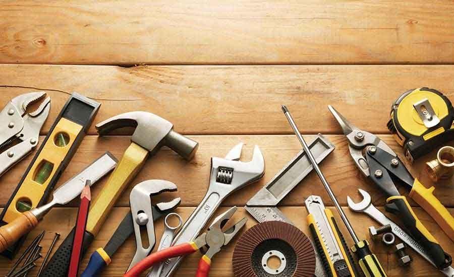 ferramentas na construção civil