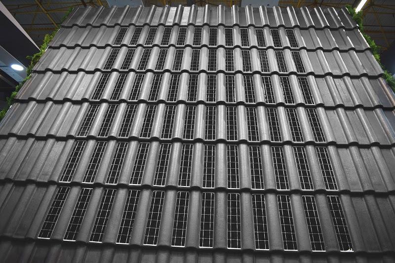 Energia solar estará presente na construção civil através de telhas fotovoltaicas fabricadas pela Eternit, como alternativa de energia renovável